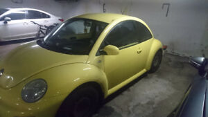 2001 Volkswagen New Beetle GLS Coupe (2 door)