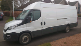 Iveco daily 2018 plate