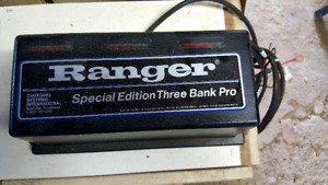 3 Bank Battery Charger for sale
