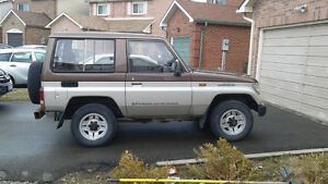 1990 Toyota Land Cruiser SUV, Crossover