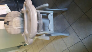 Kids swing and highchair