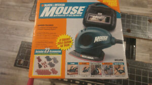 Black & Decker Mouse Sander - New in Box