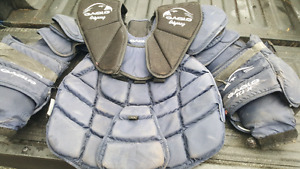 Large Eagle goalie chest protector, well used