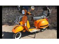 LML RS MODEL Star Deluxe 125cc MANUAL SCOOTER CHOICE OF 10