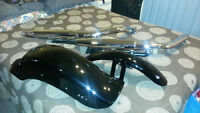 2003 Softail Night Train fenders & pipes