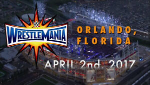 Wrestlemania 2k17 ticket