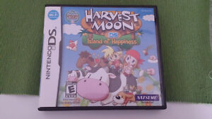 DS HARVEST MOON ISLAND OF HAPPINESS GAME