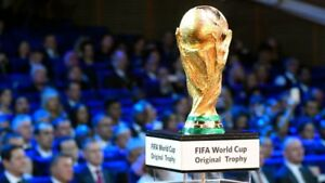 FIFA World cup 2018 Trophy *gold plated*