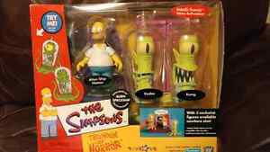 Simpsons Treehouse of Horrors set Alien Spaceship + cemetery