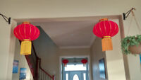 Wedding, Fesitival, Chinese new year, Parties lanterns
