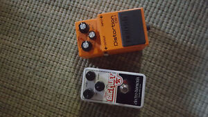Bigg Muff and Distortion DS 1 Pedal.  Brand New!
