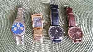 Lot of Men's Designer Wrist Watches
