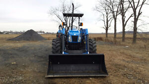 NEW HOLLAND T5070 LOADER TRACTOR / READY TO WORK / ***455HRS*** London Ontario image 2