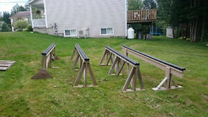 4 Ski/Snowboard Rails for sale. 15$ each 50$ for all