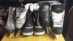 Men's & Woman's  ice skates