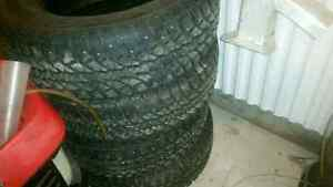 275/65R18 studded winter tires