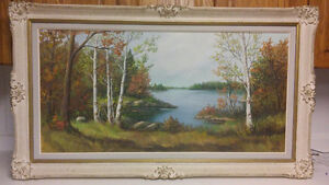 Listed Canadian artist Anna Jalava oil painting