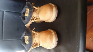 Timberlands size 7 boys toddlers