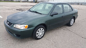 2002 Toyota Corolla CE - LOW KM   1-OWNER   CERTIFIED!