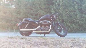 2009 Matte Black Harley Davidson Nighster XL1200N