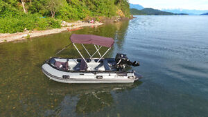 14' STRYKER RANGER LX INFLATABLE BOAT