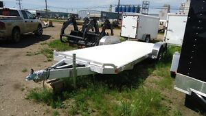 20' Aluminum Carhauler 2-5200lb axles Edmonton Edmonton Area image 1