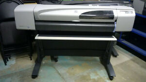 "Wide format printer/plotter HP Designjet 500 42"" for sale."