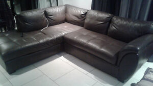 Couch .divan cuir authentic natuzzi