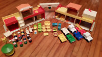 Vintage Fisher Price Play Sets