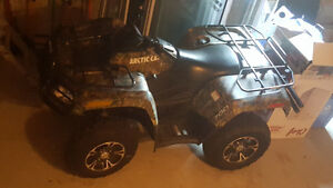 2012 Arctic Cat Limited Edition