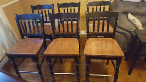 6 Pub Style Chairs