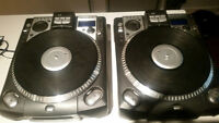 (2) Numark Cdx Turntables
