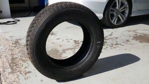 "Enscribe CSi-1 25"" Premium Winter Tires barely used"