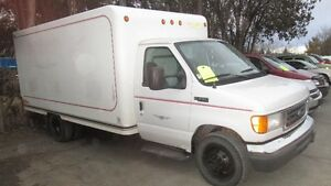 2004 FORD 350 *SOLD* *SOLD* CUBE VAN *PAUL YENDALL AUTOS**