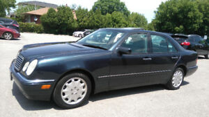 1999 MERCEDES-BENZ E320 LEATHER ROOF ALLOYS A/C RUNS PERFECT