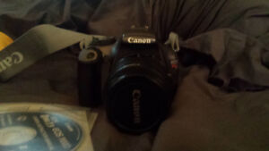 Canon rebel t3 camera and accessories