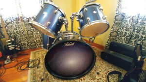 Pearl Target Series Drum Set - Just The Drums - Dark Blue
