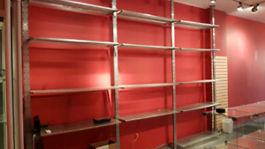 Commercial/retail shelving