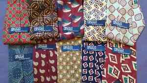 POLO RALPH LAUREN TIES LOT OF 10 ASSORTED COLOURS PATTERNS Cambridge Kitchener Area image 1