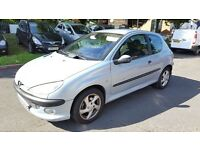 2002 52 PEUGEOT 206 HDI D TURBO 2.0L DIESEL ++FULL SERVICE HISTORY++AIR CONDITIONING++TRIP COMPUTER+