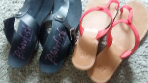 Gap sandals size 9 and also size 9 blowfish Malibu sandals