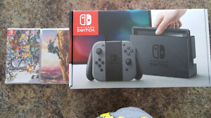 Nintendo Switch W/ two games (Campbell River)