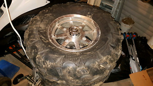 "Atv wheels and tires 27x12"" rims"