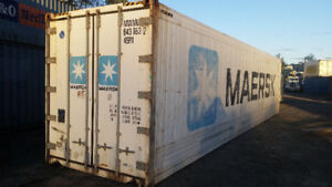 40' HC Reefer Freezer Insulated Shipping Container Rent / Buy