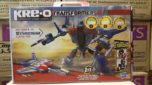 KRE-O Transformers Starscream Building Set 30667 w/2 Kreons + Pi