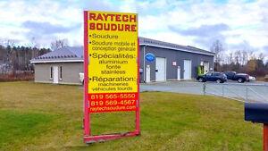 Entreprise de soudure à vendre à Sherbrooke