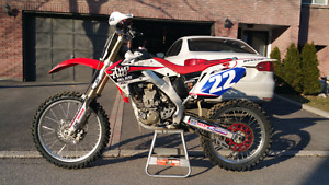 2008 CRF250R with ownership.