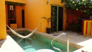 Maison à louer à Puerto Morelos Riviera Maya Mexique