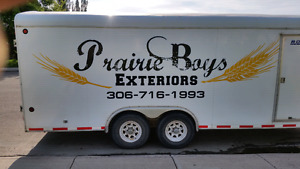 Prairie Boys exteriors. Gutter sofit fascia you name it!