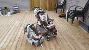 GRACO stroller and carset